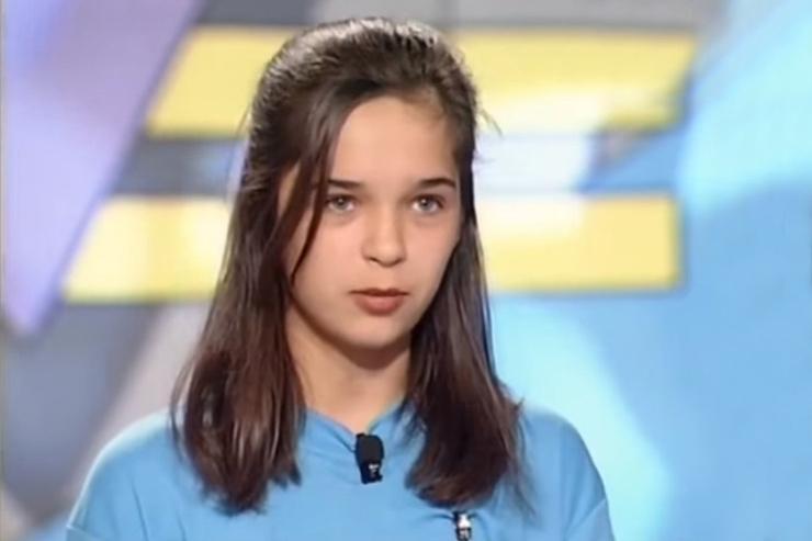 Впервые Юля появилась на экране в шоу «Звездный час»