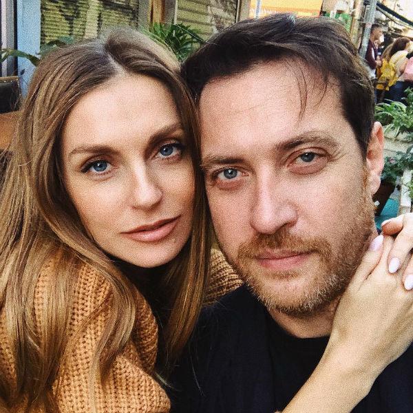 Саша Савельева и ее муж Кирилл Сафонов