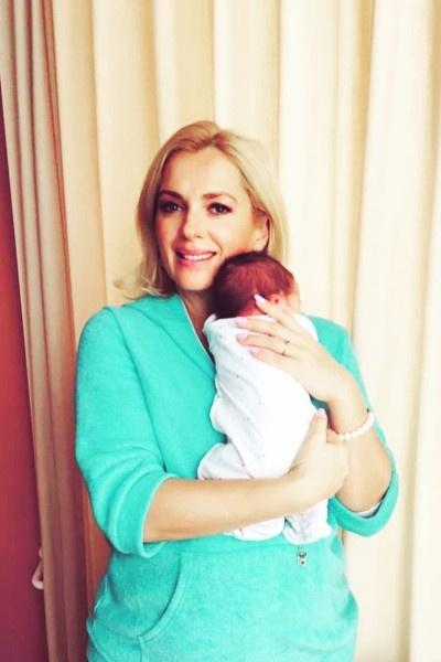 Недавно Мария Порошина стала мамой в пятый раз