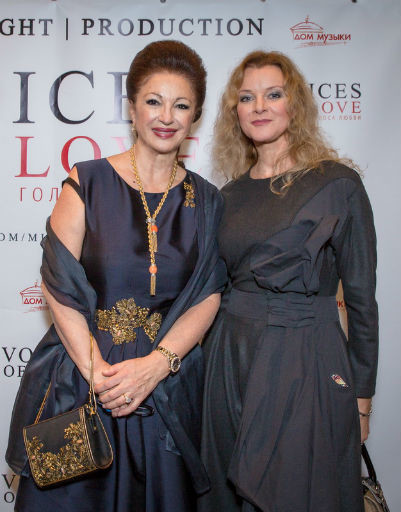 Главный акушер-гинеколог страны Лейла Адамян и актриса Анна Терехова
