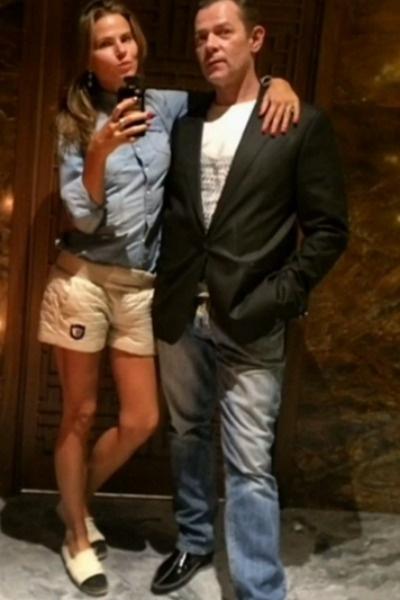 Вадим Казаченко с официальной супругой Ольгой
