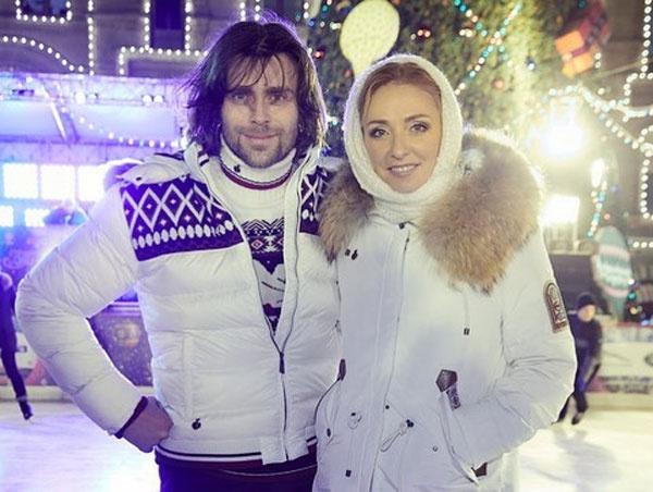 Петр Чернышев и Татьяна Навка