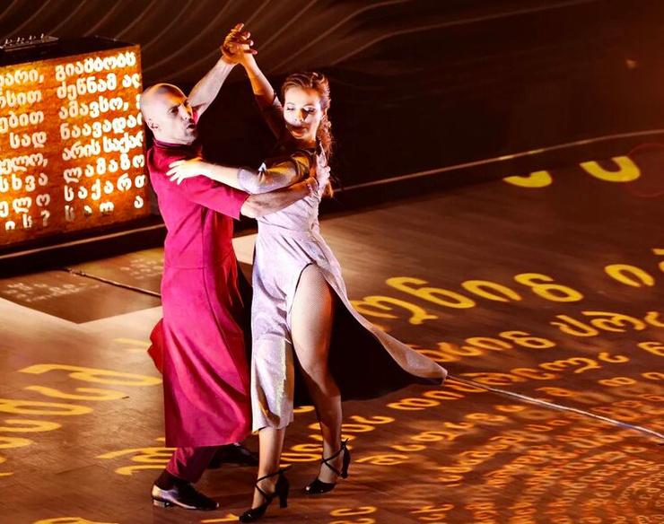 Папунаишвили и Гусева выступали под живую музыку