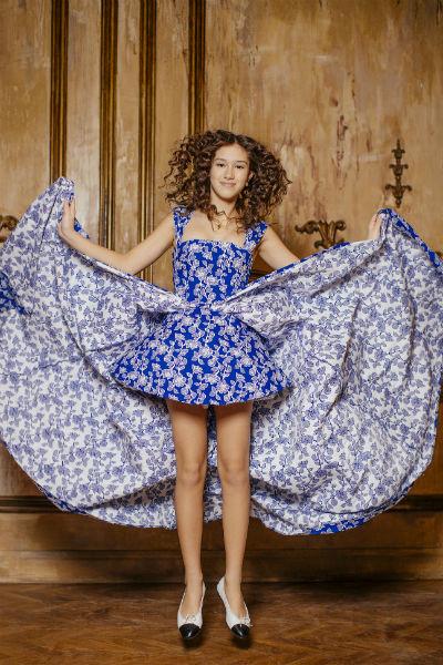 Платья модного бренда полюбились дочери политика давно