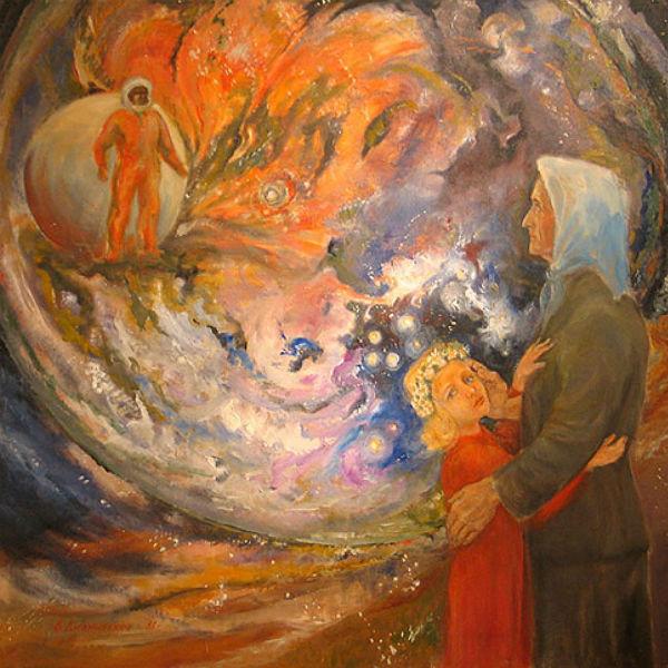 Картина Владимира Джанибекова «Звездное детство»