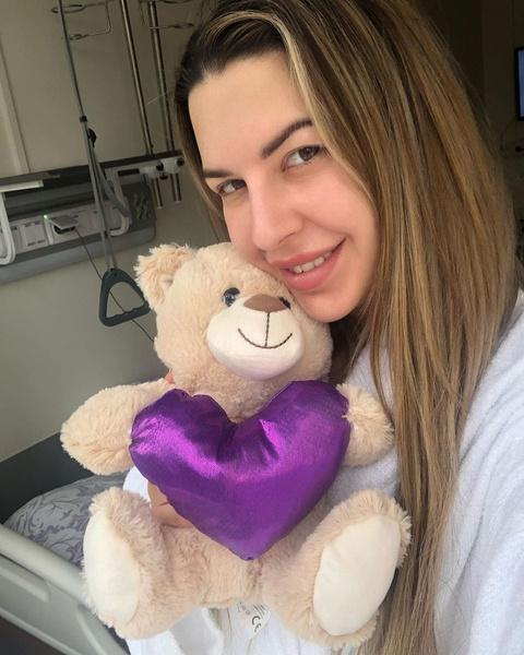 Майя надеется, что вскоре выйдет из больницы