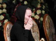 Рыдающая вдова Бориса Грачевского: «Это не конец, мы обязательно встретимся». Видео