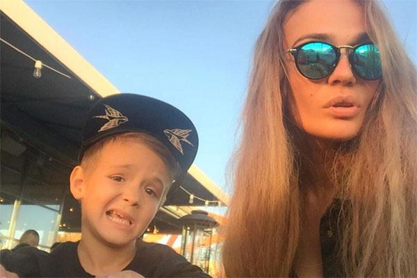 Алена Водонаева с сыном Богданом отдыхает в Калифорнии