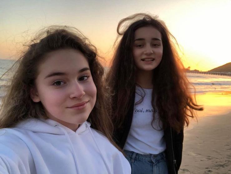 Сестры Микелла и Сафина не конкурируют между собой