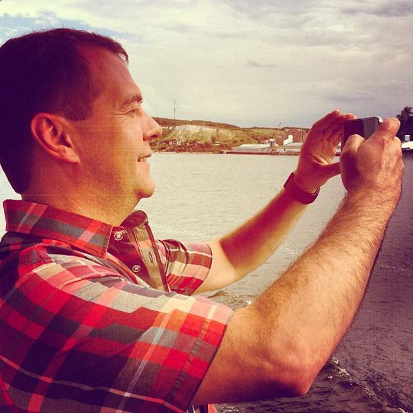Дмитрий Анатольевич любит фотографировать, когда выдается свободное время
