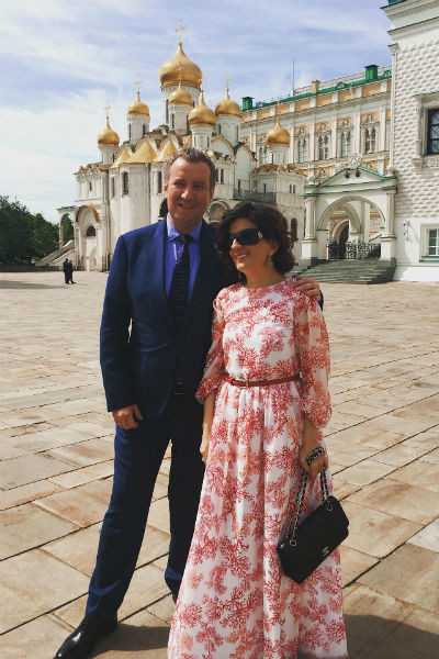 Диана Гурцкая с мужем Петром