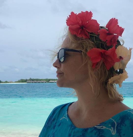Певица наслаждается долгожданным отпуском