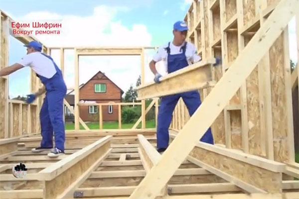 Для дома выбраны сверхпрочные конструкции