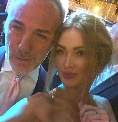 Евгения Феофилактова впервые вышла в свет после развода