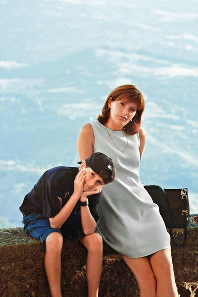 Кирилл вместе с мамой Ириной
