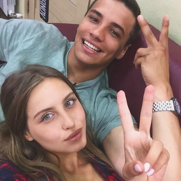 На «ДОМе-2» девушка строила любовь с Олегом Бурхановым