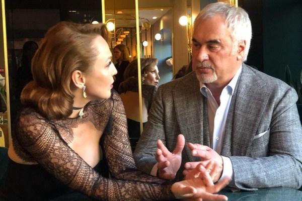 Валерий Меладзе и Альбина Джанабаева были на свидании в День святого Валентина