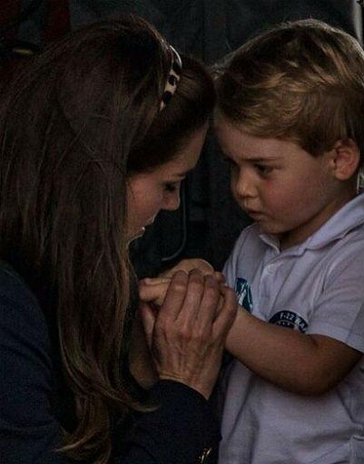 Кейт Миддлтон также старается проводить рядом с сыном все свободное время