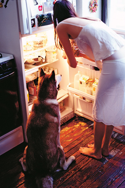 В холодильнике всегда должны быть любимые продукты, чтобы вы ими наслаждались, а не питались чем попало