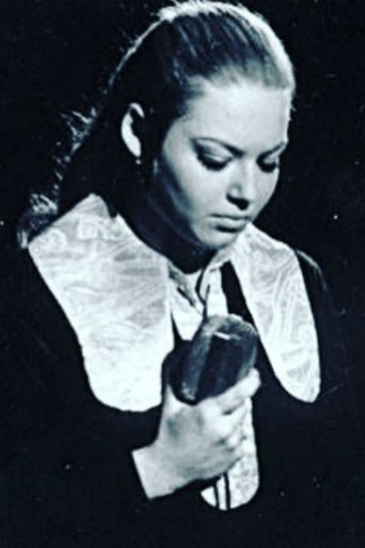 Ирина Витальева во время учебы в консерватории
