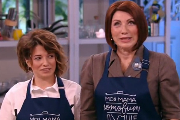 Роза Сябитова и ее дочь приняли участие в кулинарной дуэли