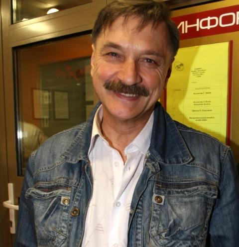 Народный артист Беларуси Александр Тиханович