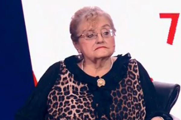 Вдова Семена Фарады Мария Витальевна