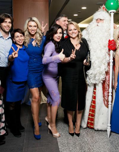 Дед Мороз появился в сентябре на презентации нового сезона НТВ