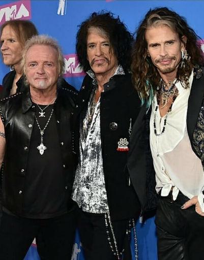 Участники группы Aerosmith