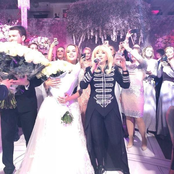 На свадьбе Третьяка пела Ирина Аллегрова