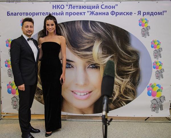 Ведущие вечера Ольга Родина и Александр Ковалев