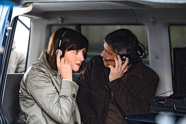 Анна сыграла подполковника полиции в сериале «Ищейка»