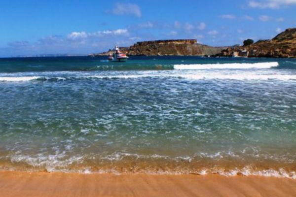 Пляжи Мальты
