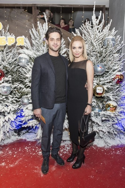 Марк Богатырев и Татьяна Арнтгольц