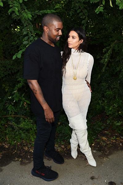 Брак Ким и Канье длится пять лет