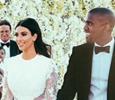 Ким Кардашьян сэкономила на свадебном макияже