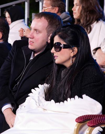 Диана Гурцкая с мужем Петром Кучеренко