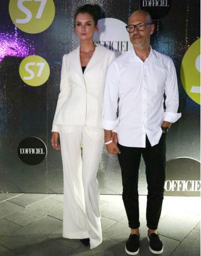 Паулина Андреева и Федор Бондарчук после премьеры картины «Мифы» в июне этого года