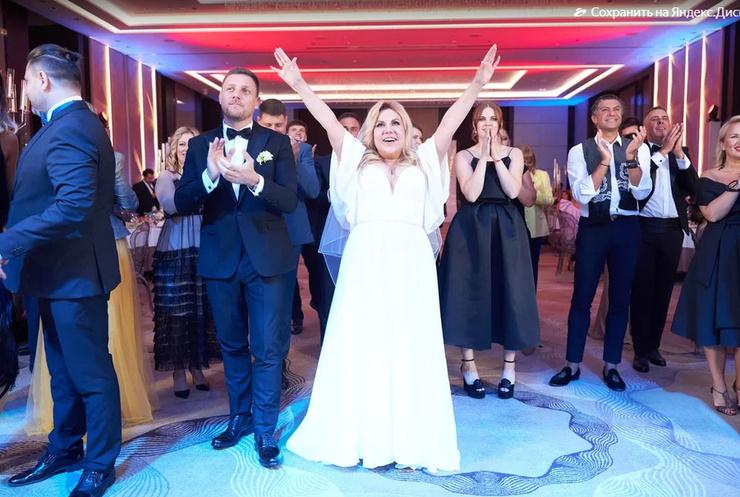 В конце августа Марина и Стефано сыграли пышную свадьбу.