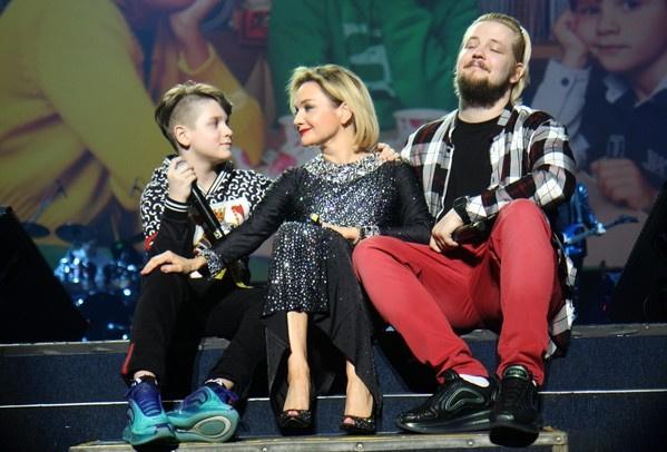 Татьяна обожает сыновей