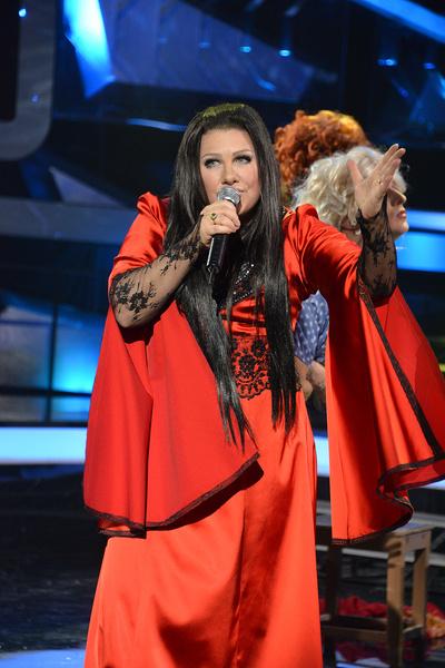 Ева Польна принимала участие в шоу «Один в один!»
