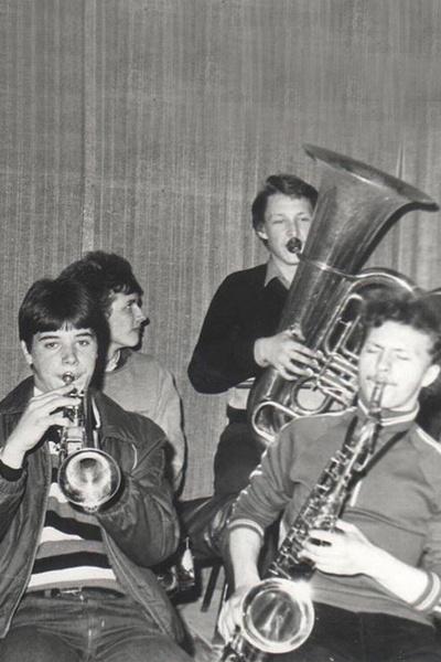 Вячеслав Жеребкин с детства увлекался музыкой