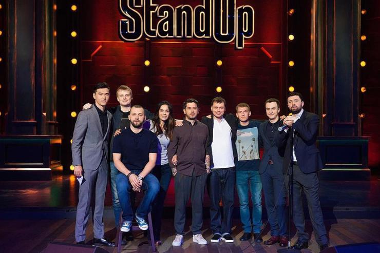 Вместе с Русланом Белым юмористка начала заниматься проектом Stand Up на ТНТ