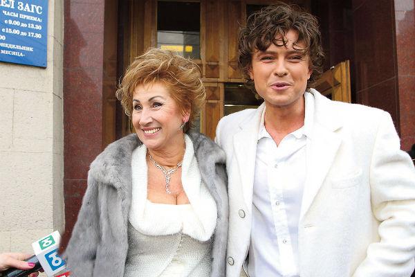 Брак Прохора Шаляпина и Ларисы Копенкиной был недолгим