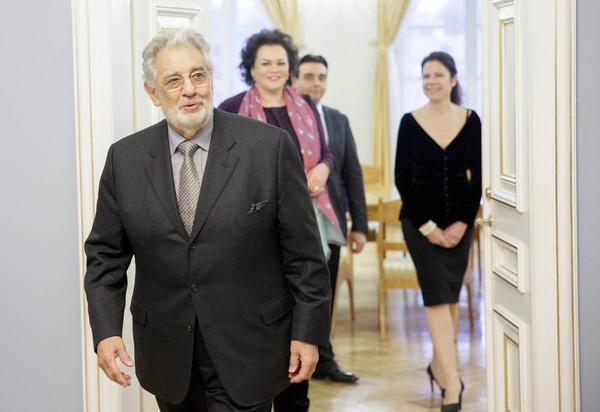 Пласидо Доминго всегда пользовался успехом у женщин
