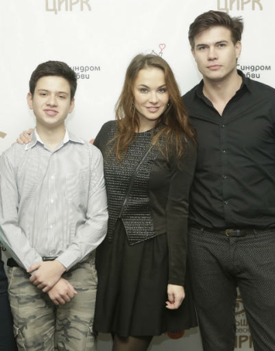 Мария Берсенева с друзьями
