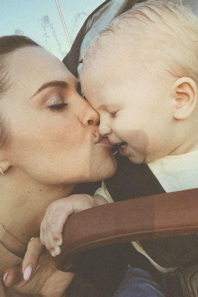 Светлана с дочерью Оливией