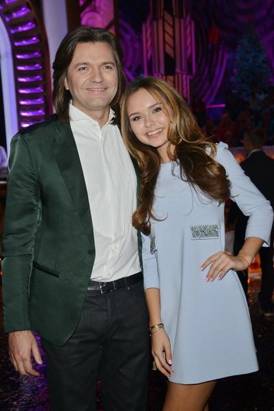 Дмитрий Маликов и Стеша Маликова