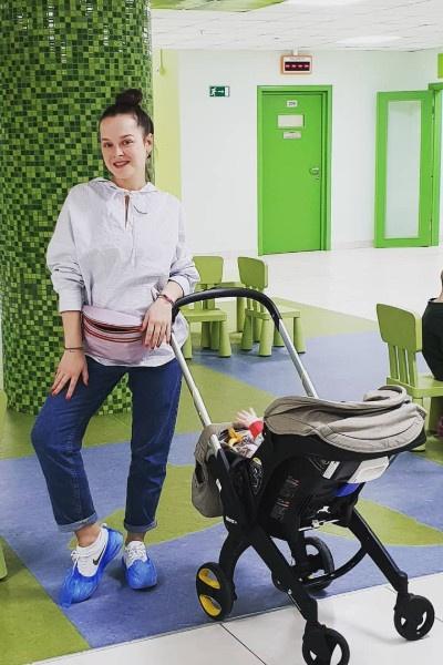 Ранее Наталия Медведева публиковала только снимки ребенка в коляске