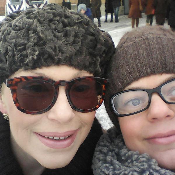 Ирина с племянницей Анной